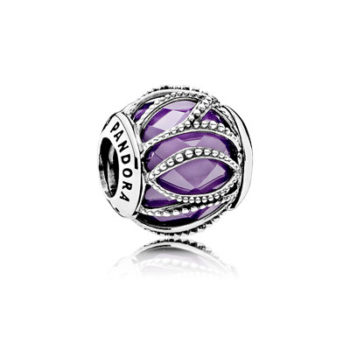 Purple Intertwining Radiance Charm